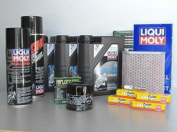 Mantenimiento - Set Honda CBF 1000 F 1SKB-SC56, con oelfilter, Bujía, cadena grasa, OEL Moto: Amazon.es: Coche y moto