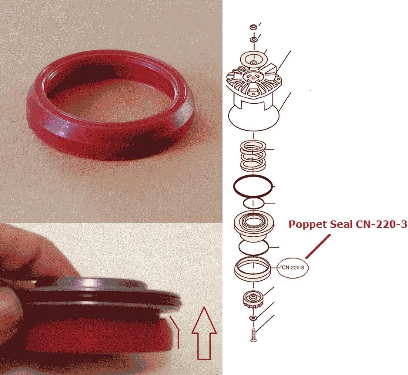CN-325 B Duo-Fast Nailer O-ring Replacement Kit