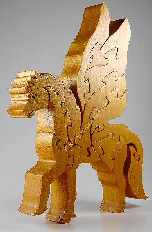 13 Piece Pegasus Puzzle Birch Hardwood