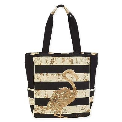 4e3f17232a9c Paul Brent Gold Coast Stripe Shoulder Tote Beach Bag 1050 (Flamingo ...