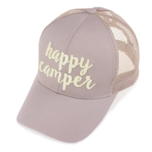 e6937589529 C.C Exclusives Pony Cap with 3D Embroidered Color Changing Trucker Cap  (BT-10)