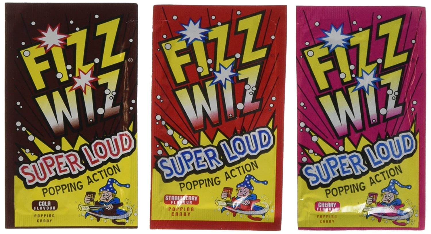 Amazon.com : Fizz Wiz Mix Flavours (space dust) (pack of 6) : Grocery & Gourmet Food