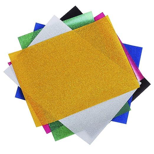 Magiin Papel Transfer para Hacer Camisetas 6 Hojas de Colores Papel  Transferencia de Brillo para Impresión en Camiseta y Tela  Amazon.es  Hogar afc5ebc2b4690
