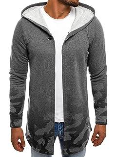 b1846c5e1e3a OZONEE Herren Sweatjacke Kapuzenpullover Hoodie Sweatshirt J. Style Y36