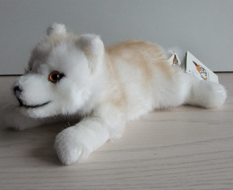 Kösener 6090 - Polarwolf Welpe liegend, 22 cm