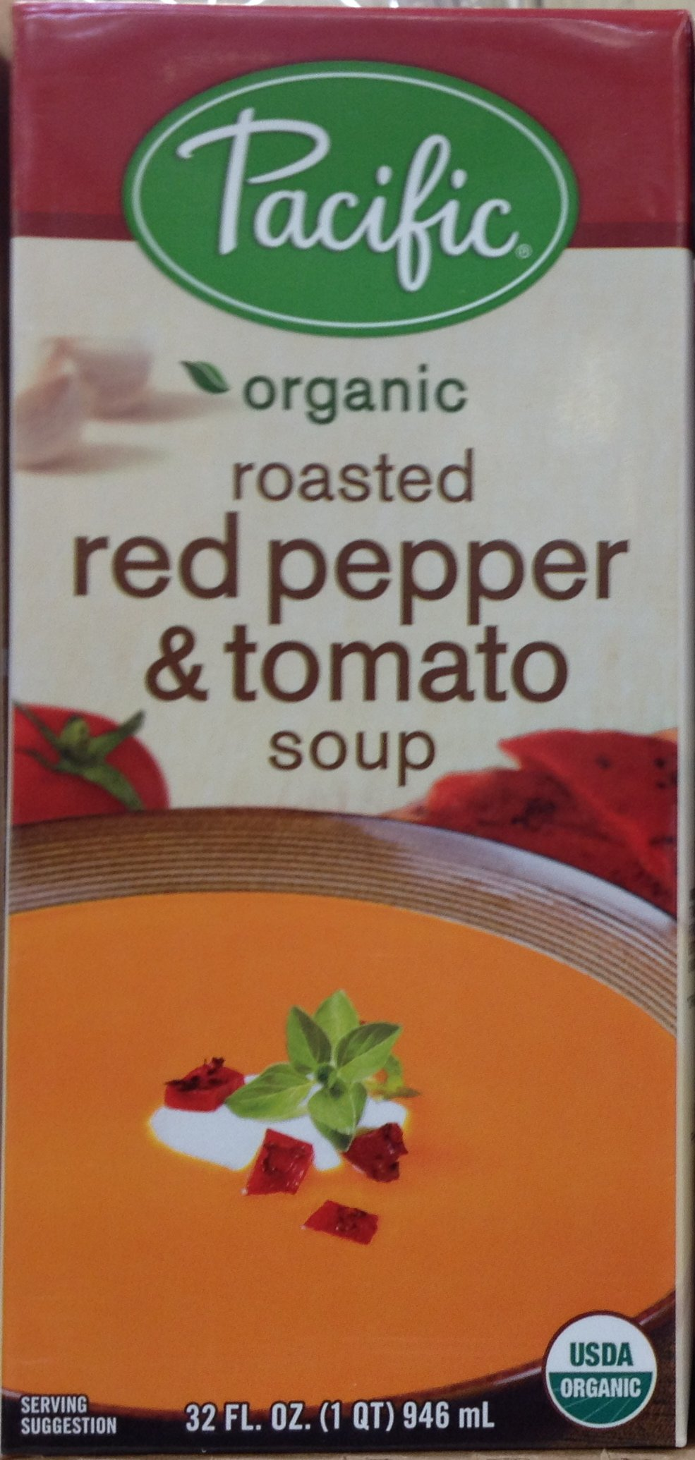 Pacific Foods Soup Crmy Rstd Pppr Tmo Org Gf by Pacific Foods