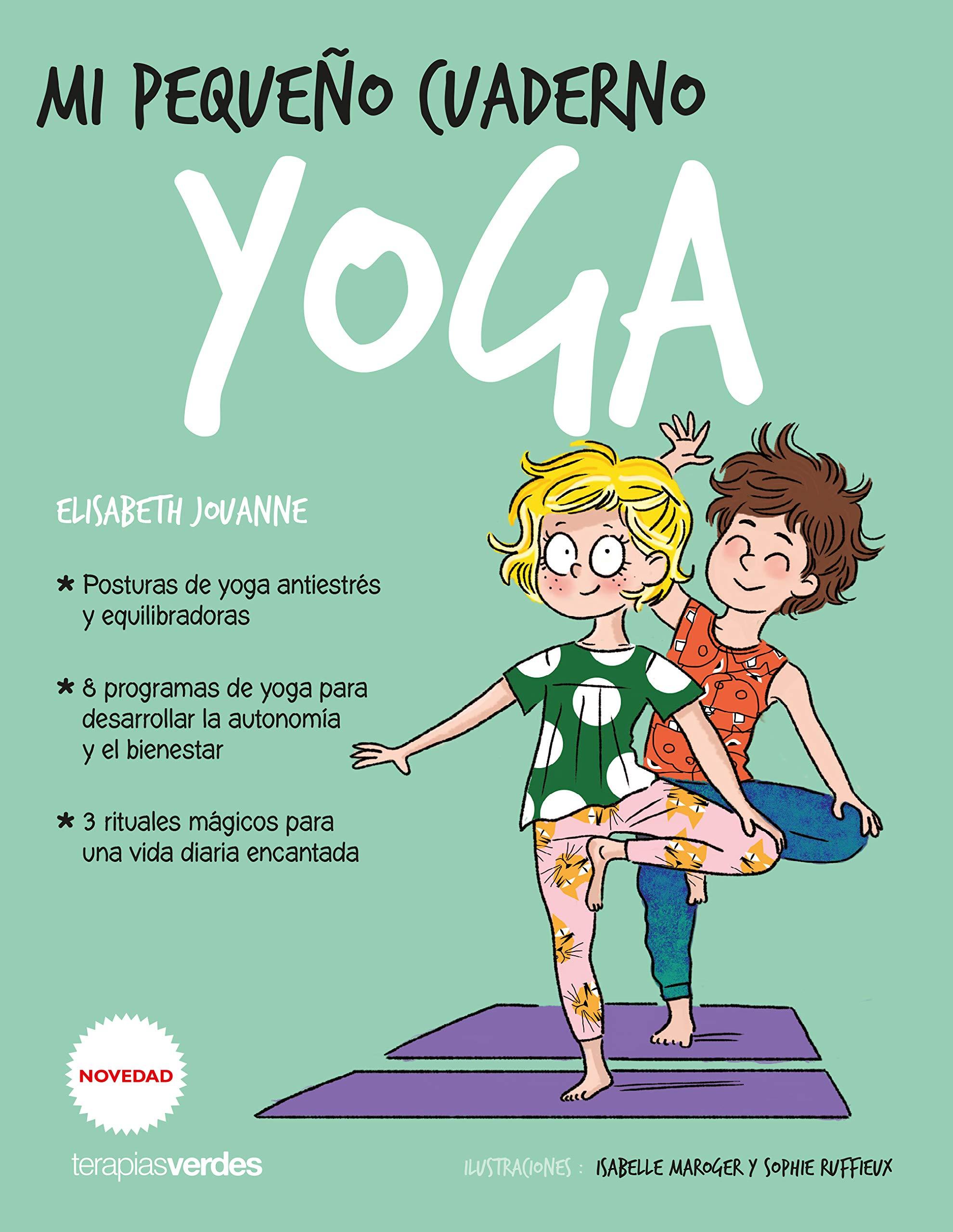 Mi pequeño cuaderno. Yoga Terapias Juegos Didácticos: Amazon ...