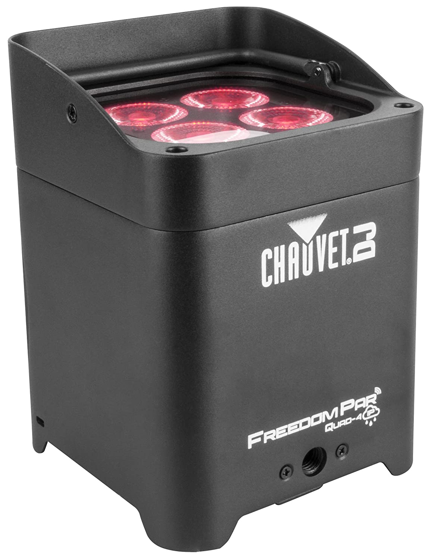 CHAUVET DJ Freedom Par Quad-4 IP Indoor/Outdoor Battery-Powered Wireless LED Par-Style Wash Light