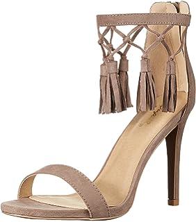 aaef9fea4e25 Qupid Women s High-Heel Dress Sandal