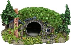 BobbyPet Hobbit House Aquarium Decoration