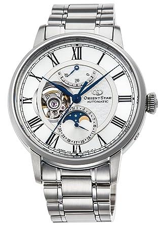 e7fcc7fcba [オリエントスター]ORIENT STAR メカニカルムーンフェイズ 機械式 腕時計 RK-AM0005S