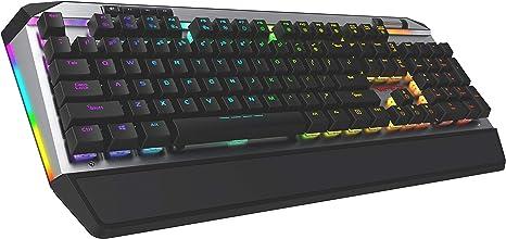 Patriot Memory Viper V765 Teclado para Gamers Mecánico Retroiluminado multicolor RGB con teclas multimedia - DIP LED Kailh White Box Switches - Layout ...