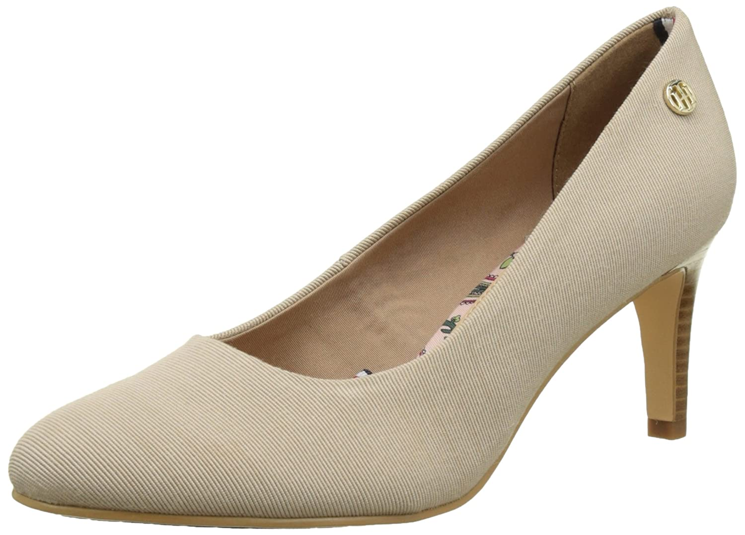 Tommy Hilfiger L1285isette 1d, Scarpe con Tacco Donna