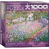 The Artist's Garden by Claude Monet Puzzle, 1000-Piece