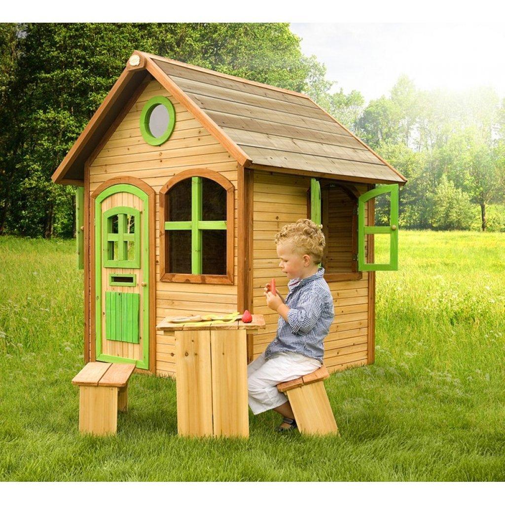 axi maisonnette julia amazonfr jeux et jouets - Cabane De Jardin En Bois Pour Enfant