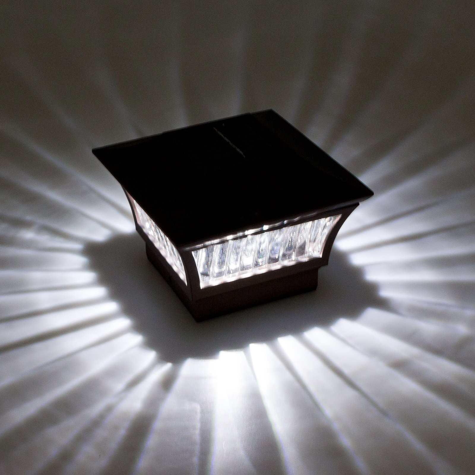 GreenLighting Bronze Aluminum Solar Post Cap Light 4x4 Wood & 6x6 PVC (2 Pack) by GreenLighting (Image #2)