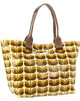 Orla Kiely Laminated Small Shadow Stem Print Easy Shoulder Bag