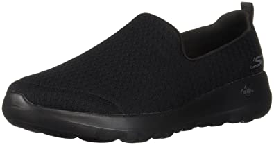newest cc8ac e0bac Skechers GO Walk Joy Rejoice Womens Slip On Sports Shoes 3 Black