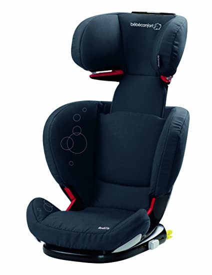 Bébé Confort Rodifix Total Black - Silla de coche Grupo 2/3 Isofix (Dorel