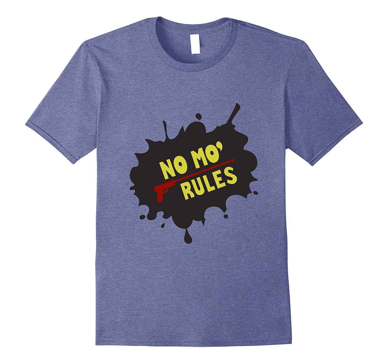 No Mo Rules t shirt-CD