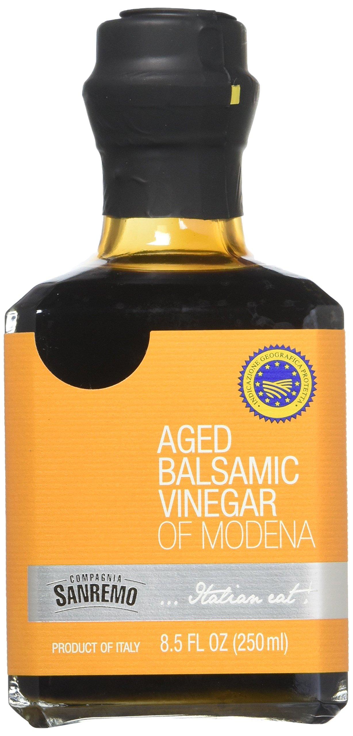 Sanremo Aged Balsamic Vinegar, 8.5 Ounce