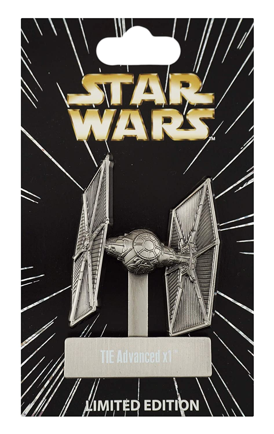 Disney Pin - Star Wars Vehicles Pin of the Month - TIE Advanced x1