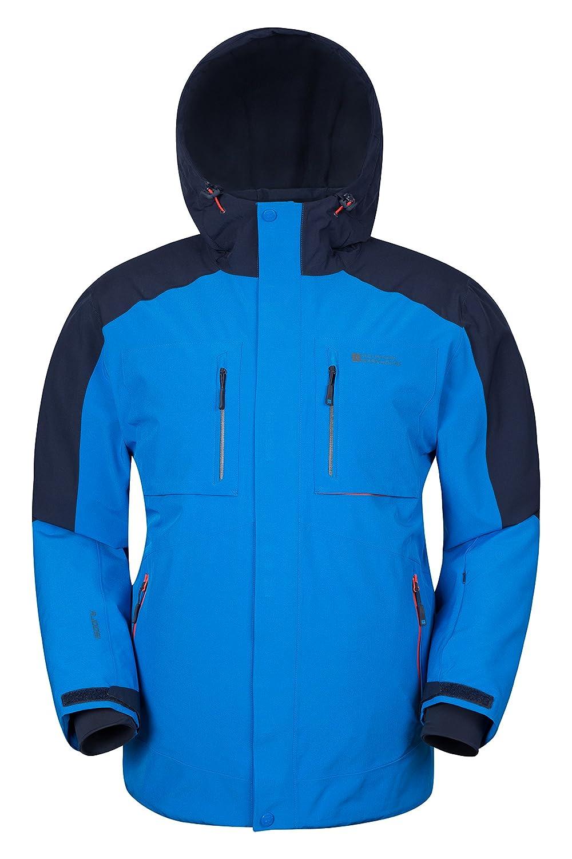 Mountain Warehouse Caribou Kidsファートリム雪ブーツ – 雪防止のフリース裏地& High Tractionソール – Great to keep your子の足Cosy & Snug On寒い冬日 B01LDHH8DA  ブルー X-Small