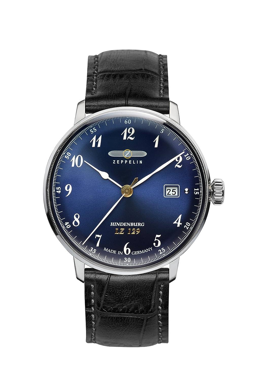Zeppelin Unisex-Armbanduhr Chronograph Quarz Leder 7046-3