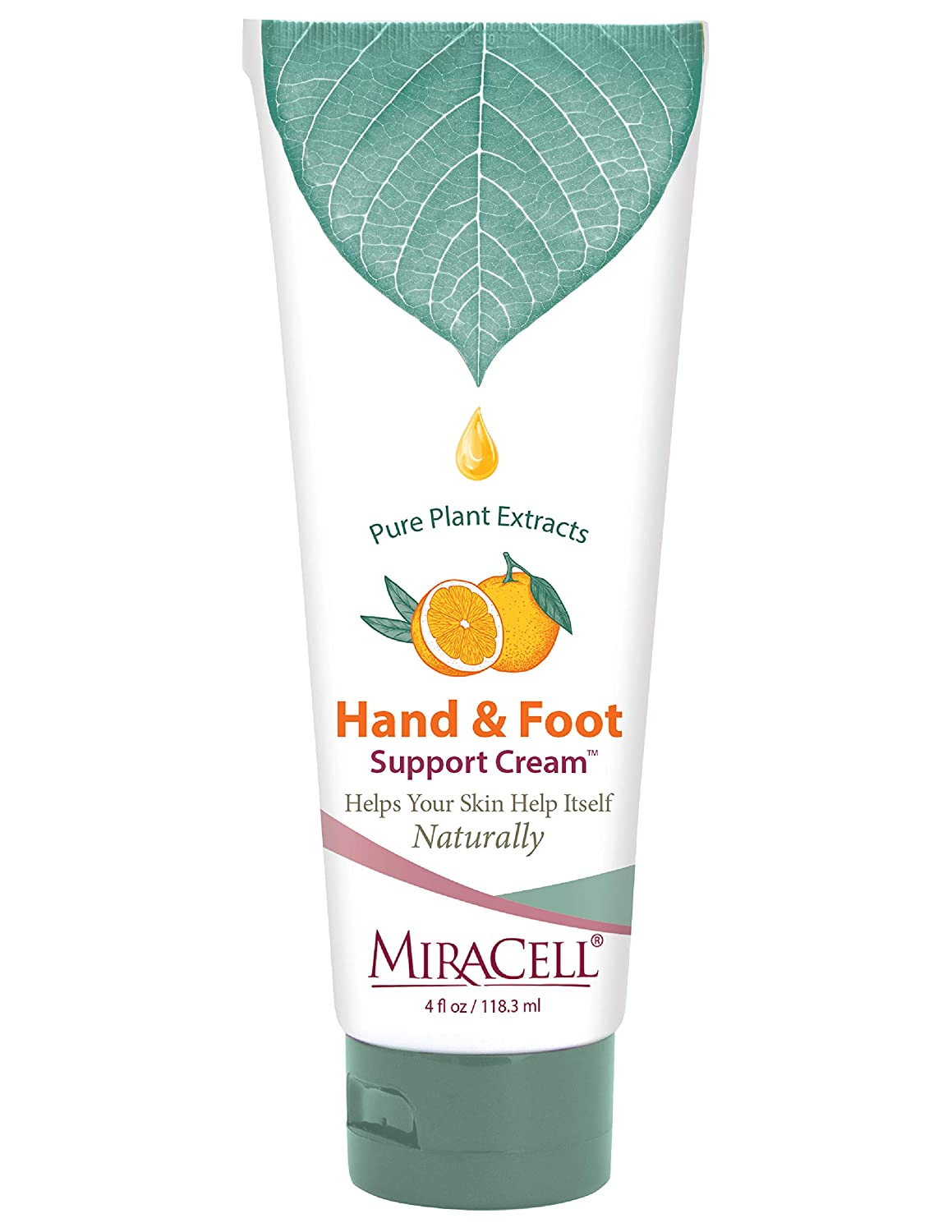 MiraCell Hand and Foot Support Cream, 4 Oz