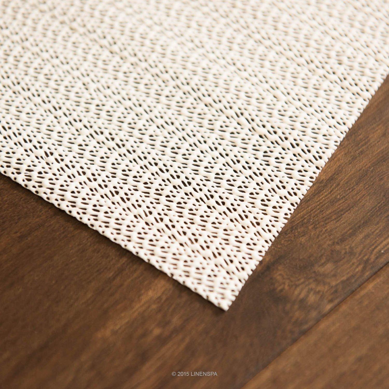 Amazon.com: Gansup Non-Slip Skid Rug Gripper Pad Floor Area Carpet Mat Rubberized Indoor (3x5): Kitchen & Dining