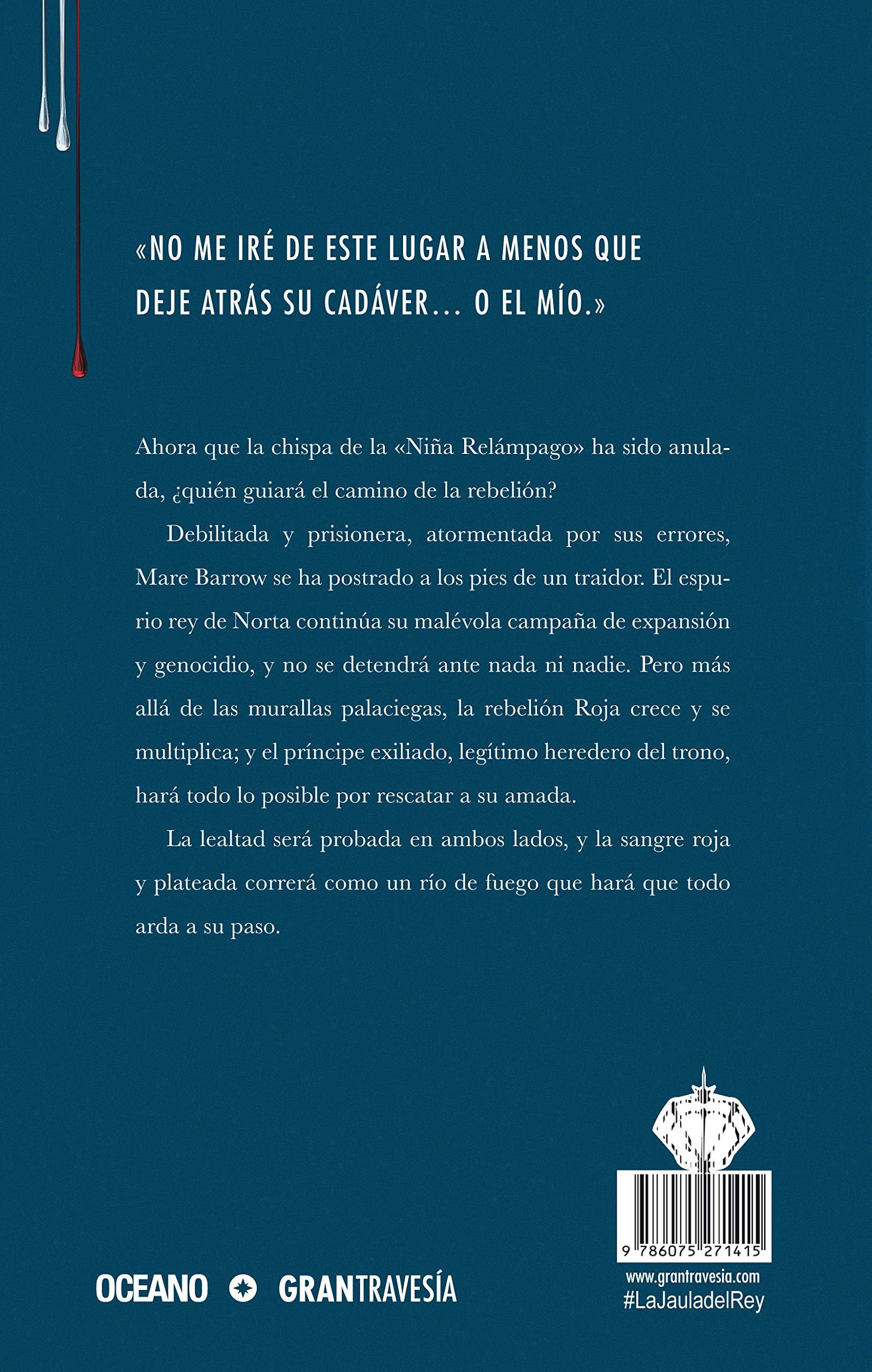 La Jaula del Rey: Todo Arderá La reina roja/ Red Queen: Amazon.es ...