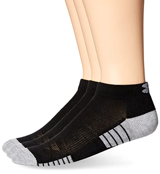 b38a42d12 Amazon.com: Under Armour Men's Heatgear Tech Lo Cut Socks (3 Pack ...