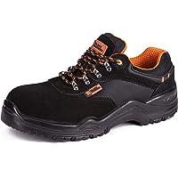 Calzado Deportivo de Seguridad S1P SRC con Puntera Ultraligera de conglomerado Zapatos de Trabajo al Tobillo de…