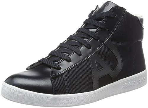 Armani Jeans Sneaker high blue graphite Herren Schuhe