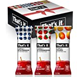 That's it. Apple + Variety 100% Natural Real Fruit Bar, Best High Fiber Vegan, Gluten Free Healthy Snack, Paleo for Children & Adults, Non GMO No Added Sugar, No Preservatives Energy Food (12 Pack)