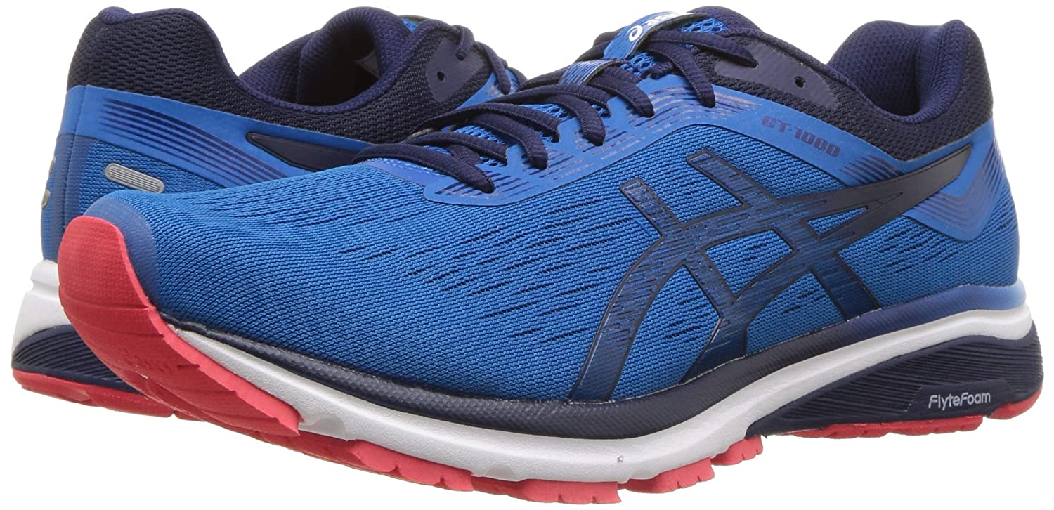 2c7cb0c000 ASICS Men's Gt 1000 7 Running Sneakers 4e Wide Width Race Blue/Peacoat 10  D(M) US: Buy Online at Low Prices in India - Amazon.in