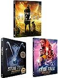 Star Trek Picard Season 1 DVD + Star Trek Discovery Complete Series Seasons 1-2 DVD