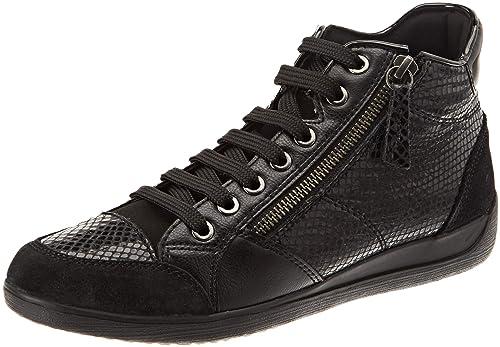 Größe 7 Stufen von große Auswahl an Farben Geox Damen D Myria C Hohe Sneaker