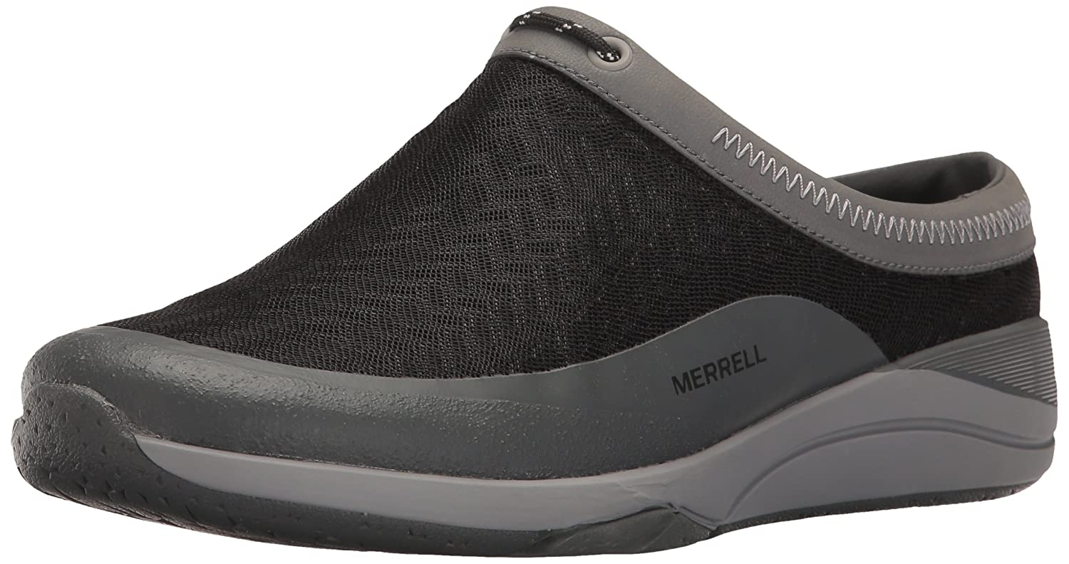 Merrell Women's Applaud Mesh Slide Hiking Shoe B01HGW93XY 7 B(M) US|Black
