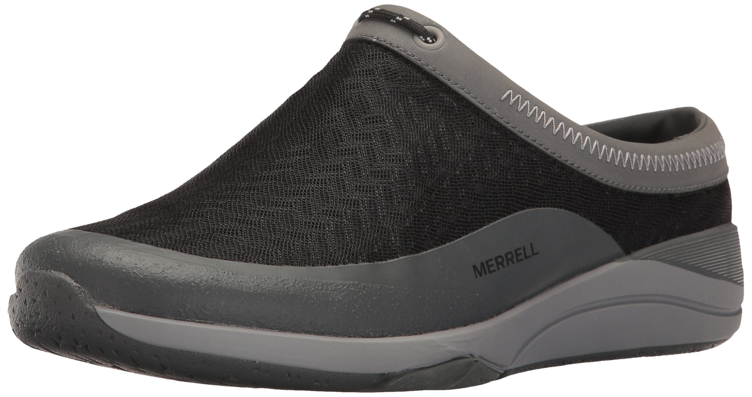 Merrell Women's Applaud Mesh Slide Hiking Shoe, Black, 8 M US