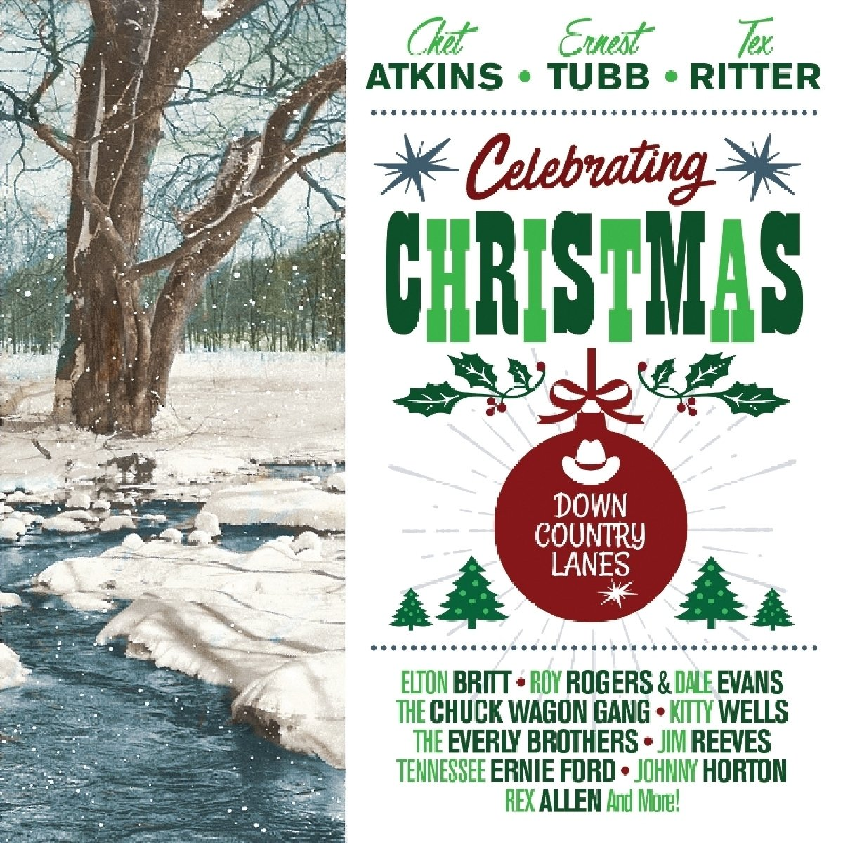 Various Artists - Celebrating Christmas - Down Country Lanes ...