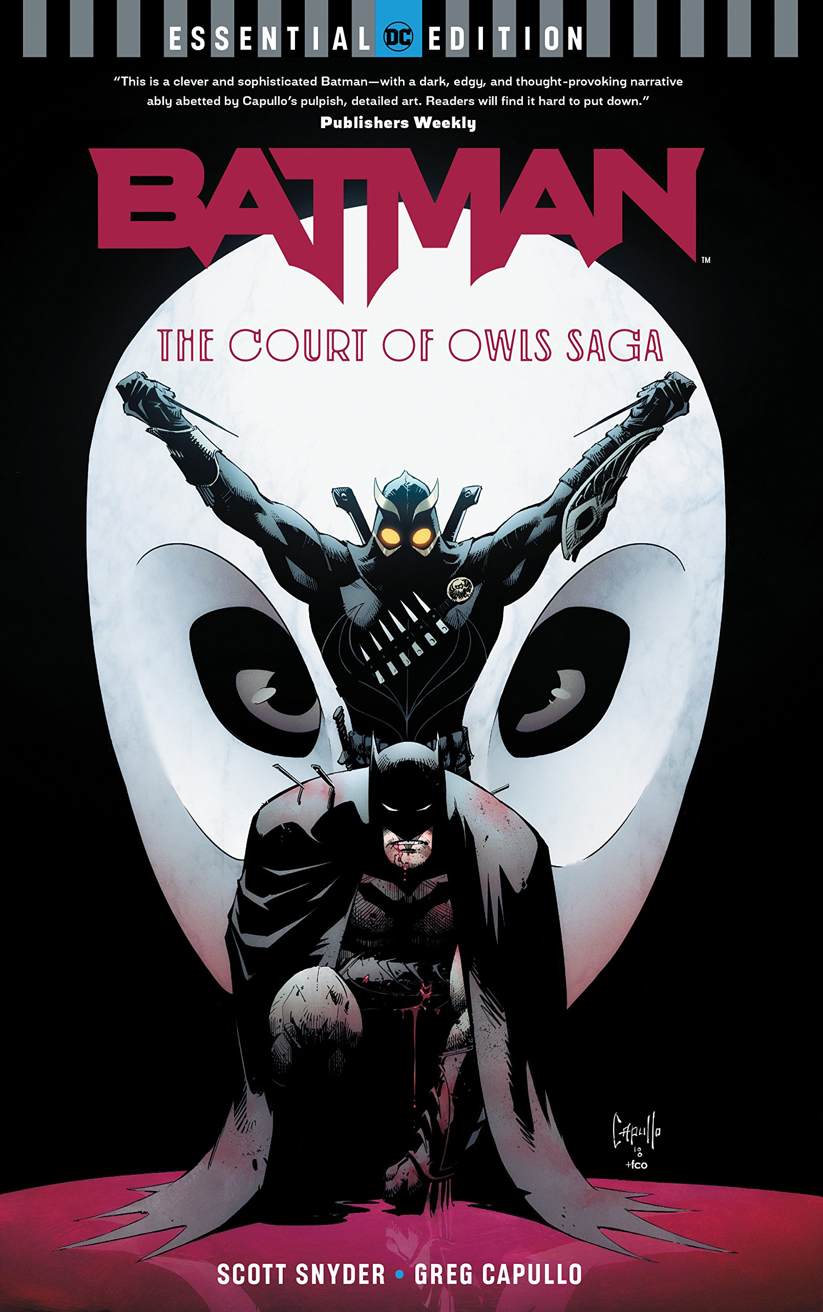 Batman: The Court of Owls Saga (DC Essential Edition)
