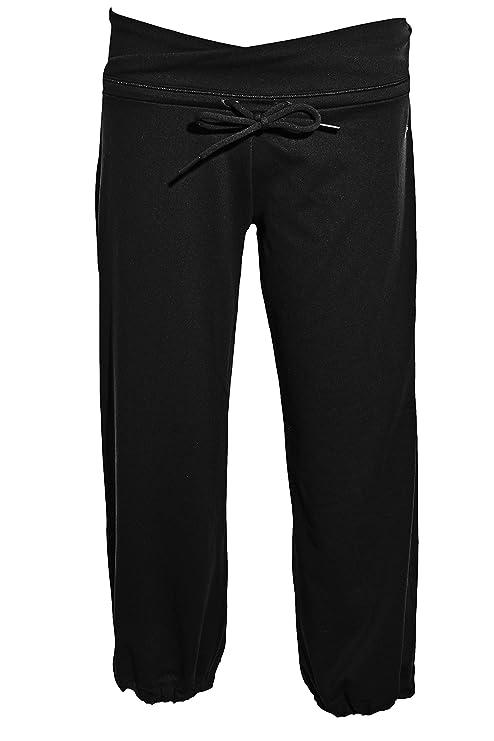 66ecbc6dbd7c Amazon.com  Adidas Womens ClimaLite Capri Pants S Black  Sports ...