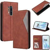 LODROC Lederen Portemonnee Case voor OnePlus 8Pro, [Kickstand Feature] Luxe PU Lederen Portemonnee Case Flip Folio Cover…