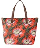 Oilily Paisley Basic Shopper Coffee