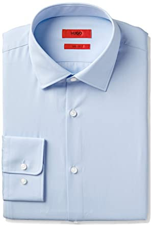 99a2da0fd HUGO by Hugo Boss Men's Dress Shirt at Amazon Men's Clothing store: