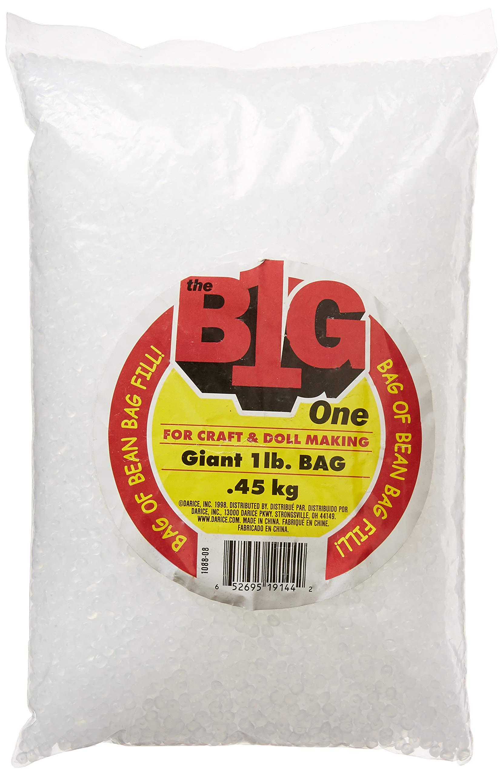 Amazon Com Darice Bean Bag Filler Plastic Pellets 16oz