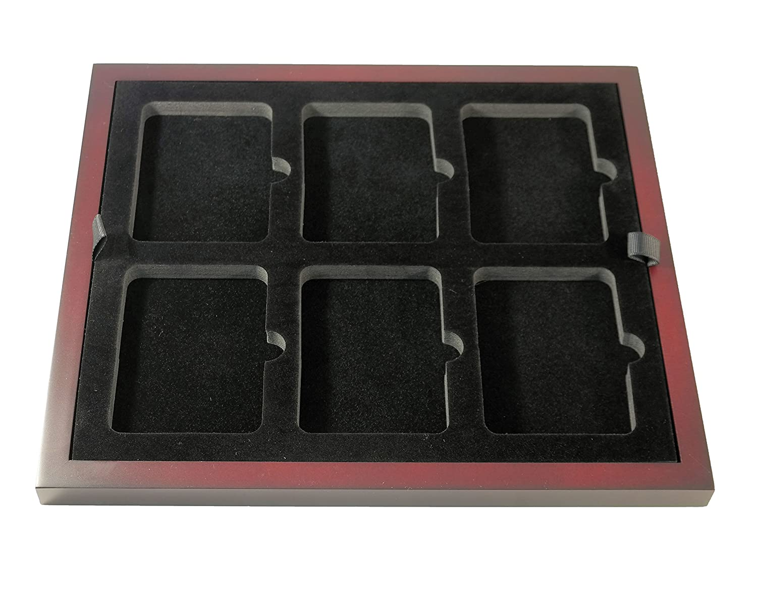 Guardhouse Wood Coin Display Trays For Certified Coins Two Pak