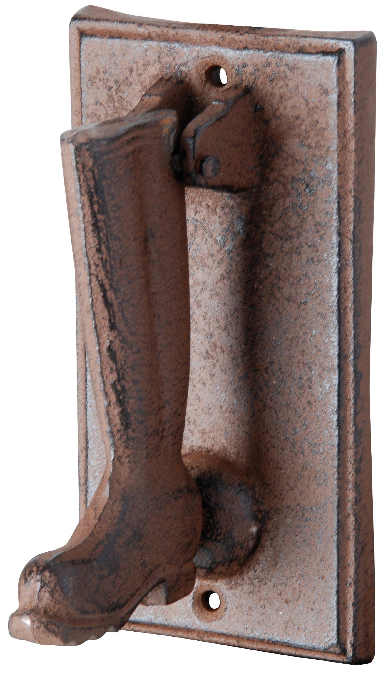Esschert Design DB54 Cast Iron Boot Door Knocker