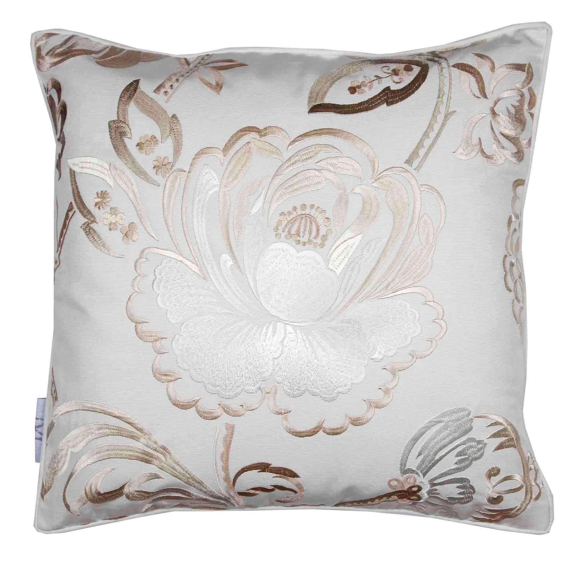 Madura Decorative Pillow - Throw Pillow cover Magellan 16X16 Offwhite